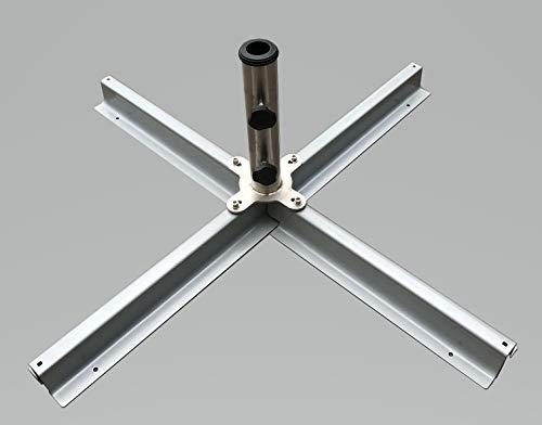 TrendLine Schirmständer Ø 34-48 mm Plattenständer Sonneschirmständer