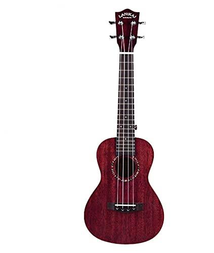 JIAQ Ukulele für Kinder und Musikanfänger, Hawaii-Gitarre, ideales 4-saitiges Klavier (Farbe: Rot, Größe: 58,4 cm) (Farbe: Rot, Größe: 58,4 cm)