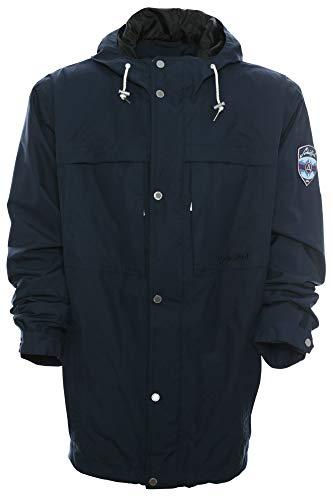 Schöffel Funktionsjacke Outdoor Freizeit Wetter Jacke Anorak Herren Wasserdicht, Farbe:Marine (Navy), Herrengrößen:54