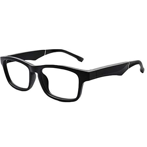 HAJZF Bluetooth Llamada Gafas De Sol, La Luz Polarizada Mejorada, El Fulgor Que Bloquea Efectivamente, Gafas Inteligentes De Protección UV, La Música del Altavoz Inteligente Semiabierto,B