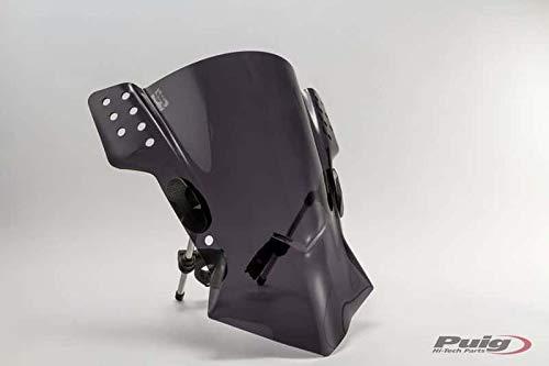 Puig 6409F Windschutzscheibe modell Rafale Kawasaki ER6n 12 Transparent / Dunkelgrau Rauch