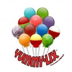 Yummy Lix Gourmet 20 Flavors Mix lollipops 80 ct box