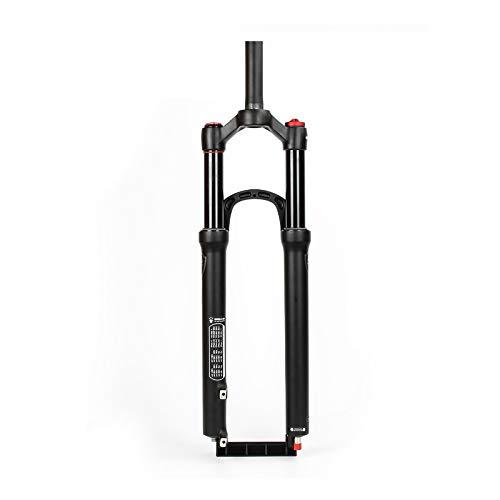 Horquillade Bicicleta de montaña, Horquilla De Aire MTB De 100 Mm De Recorrido, Suspensión De Bicicleta Ultraligera, Horquillas Delanteras, Apto para Ciclismo XC/Am/FR D,27.5inch