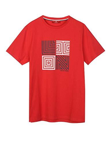 Lion of Porches Camiseta Rojo S