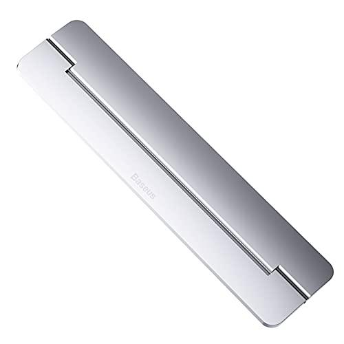 TYTG Accesorios para ordenador portátil de aluminio Soporte plegable para ordenador portátil 11 13 17 pulgadas portátil soporte para ordenador portátil (color: plata)