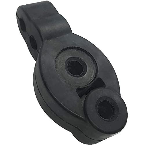 Maidi Aislante 4-Holes 12MM Silenciador Ajustable del silenciador del Extractor de la suspensión Absorbente de Impactos Buje del Soporte del silenciador para el Coche automático