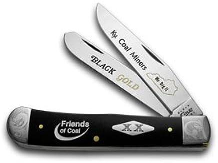 CASE XX Collector's Friends of Coal schwarz Delrin 1 500 Trapper Pocket Knife Knives B00MP1CFUK | Zu einem erschwinglichen Preis
