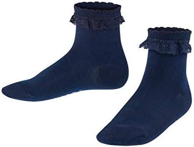 Farben versch 1 Paar Weiche FALKE Kinder Romantic Lace Socken Gr/ö/ße 19-38 Baumwollmischung hautfreundliche Baumwolle ideal f/ür Feste und Feiern
