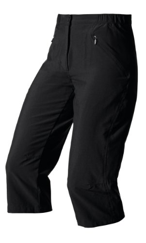 Odlo – Pantalon pour Femme 7/8 Doha, Femme, Hose Lang 7/8 Doha, Nero (Black (15000))