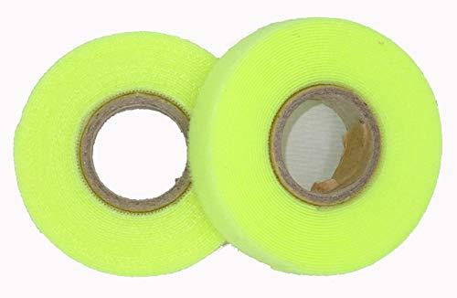 Fast Fix klittenband bundelband met roller incl. 1 rol 3m: 15mm 2 reservewielen geel