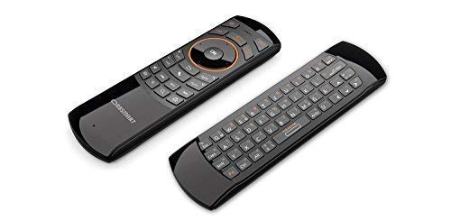 Orbsmart AM-1 kabellose Airmouse mit Deutscher Tastatur/Gyro-Funktion/Infrarot Learning-Funktion - ideale Fernbedienung für Android TV Boxen/Sticks/Mini PCs/HTPCs/Raspberry Pi/OpenELEC