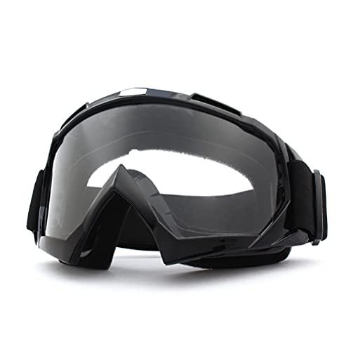 WBTY Gafas de motocross a prueba de viento, gafas de motocross, Dirt Bike ATV gafas de equitación MTB Racing gafas protectoras guapo joven para hombre y mujer