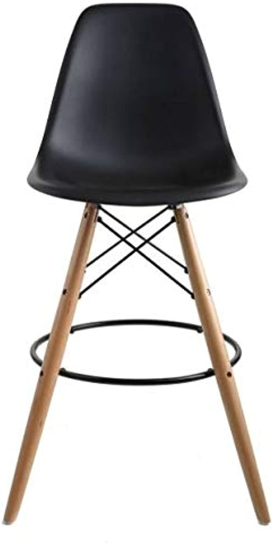 Take Me Home Furniture Eames Eiffel Stool Wood 26  in Black