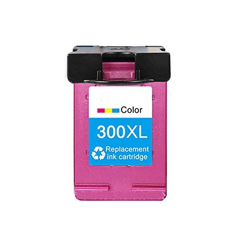 HYYH Tóner compatible para HP 300XL, repuesto para HP Deskjet C4680 C4780 D1660 D2530 D2560 D2660 D5560 F2410 F2480 F4240, negro, cian, magenta y amarillo