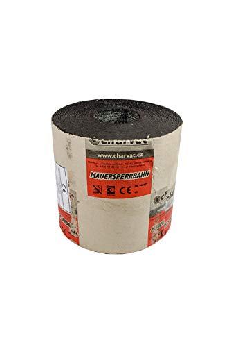 Mauersperrbahn R500 besandet 17,5 cm Bitumen Isolierpappe Isolierung Mauersperre Speerbahn