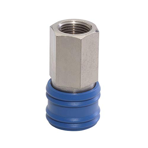 Janatics Pneumatic snelkoppeling stopcontact, 5 stuks (verpakking van 5)