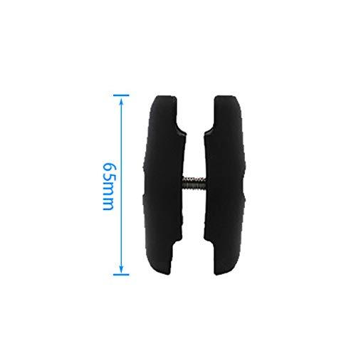 peng 65mm of 95mm Korte Lange Dubbele Socket Arm voor 1 Inch Ball Bases voor Camera Fiets Motorfiets Telefoon Houder voor Ram Mount