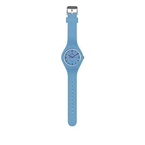 Racer Reloj Analógico para Unisex Adultos de Cuarzo con Correa en Cuero E100