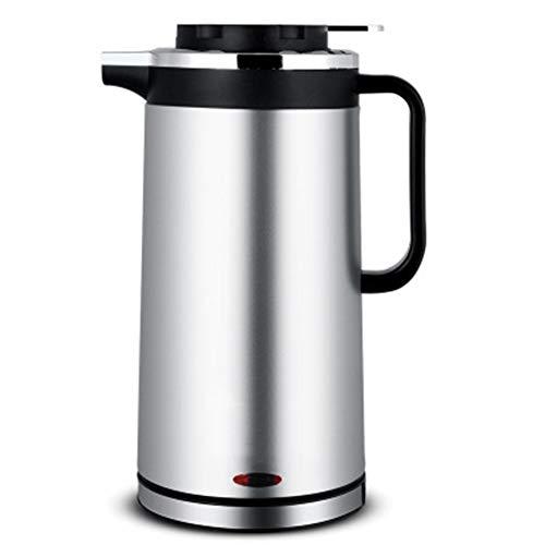 GUYUN 1.8 Liter Wasserkocher Edelstahl, Automatische Abschaltung Durch BPA Frei, ÜBerhitzungsschutz, Trockenlaufschutz, 1000W Temperaturauswahl, Abschaltautomatik, Warmhaltefunktion,C