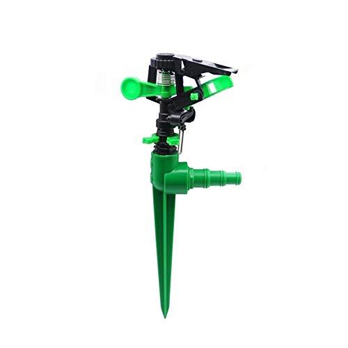 Rociador De Agua 1 Juego Rociador Giratorio De 360 Grados con Conector Multifunción Boquilla De Pulverización De Jardín Ajustable Conector De Manguera De Riego (Color: Verde) A