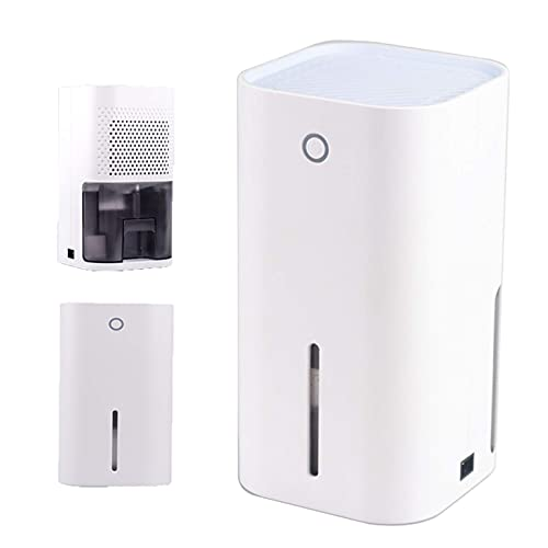 WCD Dehumidifier for Home Safe Dehumidifier 850Ml Capacity Water Tank, LED FLA he to Remind When The Water i Full Le Than 35DB NOI e Portable Dehumidifier, for A Space of 0-20㎡