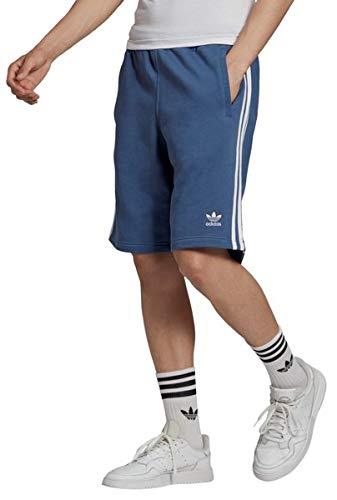 adidas 3-Stripe Short Pantaloncini, Crew Blue, M Uomo