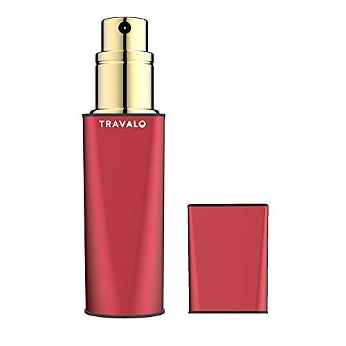 Travalo Atomiseur de Parfum Obscura Rouge pour Vaporisateur Rechargeable Unisexe de 0,17 oz Vide
