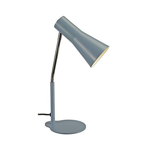 SLV Tischleuchte PHELIA / Innen-Beleuchtung für Wohnzimmer, Büro, Schlafzimmer, Lese-Lampe / GU10 35.0W blau