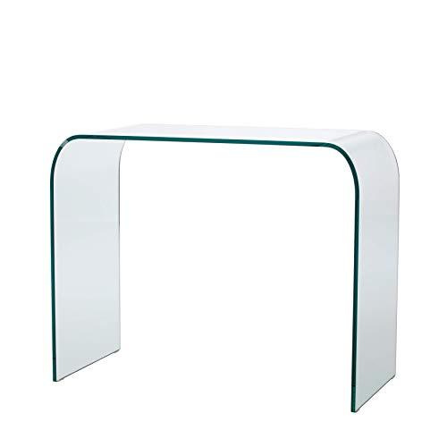Mod. Legend - gebogene Glaskonsole