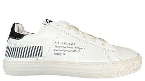 Momino Zapatillas deportivas 4040 Teen Sport, color Blanco, talla 41 EU