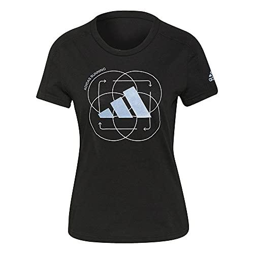 adidas Camiseta Marca Modelo Run Logo W 2