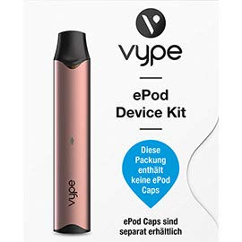 Vype ePod E-Zigaretten Device Kit (Roségold) / ohne Nikotin.
