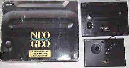 Console Neo Geo Cartouche Version US