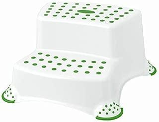 Keeeper 2-teiliges Badeset Schemel zweistufig und WC-Sitz Peppa Soft Grey 10819133194 10032133194
