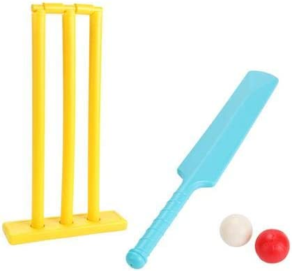 Cricket Set Kids Cricket Bat and Ball Plastic Beach Cricket Set Kwik Cricket Sets for Children product image