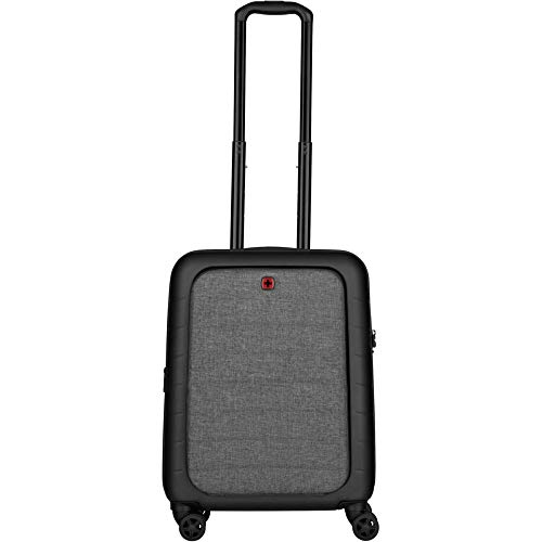 Wenger, Syntry, Carry-On Case with Laptop Compartment, Black/Heather Grey (R