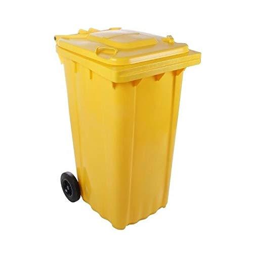 SSI Contenedor Basura 240 litros Color Amarillo