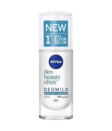 NIVEA Beauty Elixir Fresh Deomilk Desodorante Roll-on 40 ml