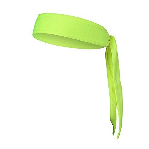 Leisial™ Deportes Antideslizante Anti-Sudor Pañuelo Cabeza para Hombrers Mujeres Corriendo Senderismo Ciclismo Hairband