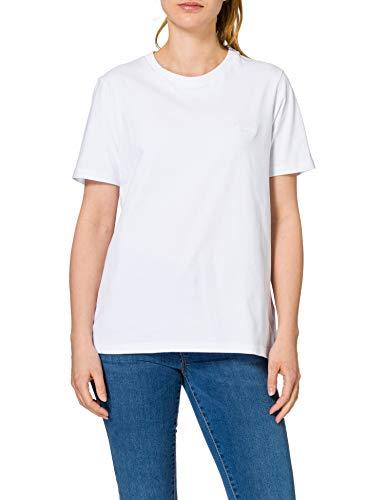 Superdry Womens OL Classic Tee T-Shirt, Optic, L