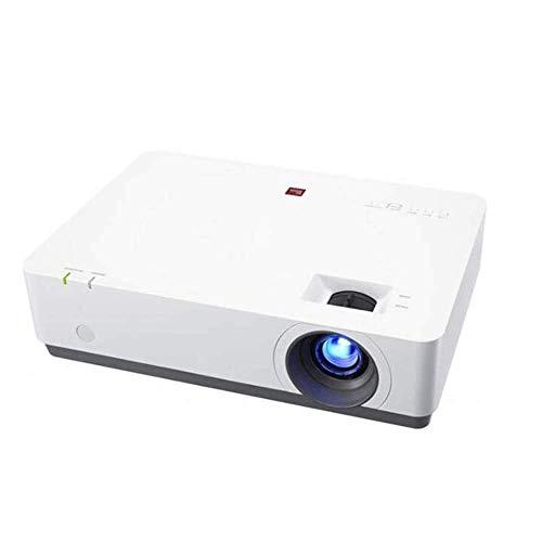 ALIZJJ Vídeo proyector 1080P Full HD HDMI Oficina de proyector for el ordenador portátil de negocios Presentación y Conferencia de cine en casa Ultra HD 1080P Oficina de Negocios Inalámbricos de forma