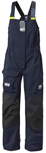 Helly-Hansen Womens Pier Sailing Bib Pants, 597 Navy, Large