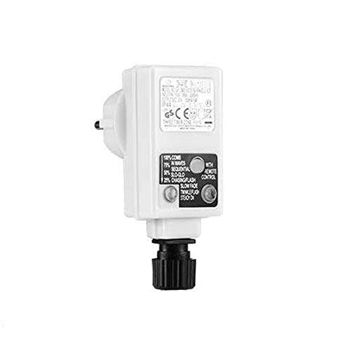 Guirnalda de luces LED, 3,6 W, con función de memoria y temporizador.