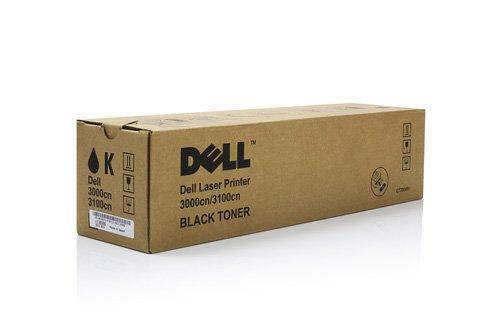 Dell Tonerkassette mit Standard-Kapazität 4.000 Seiten für Dell 3000cn/3100cn Laserdrucker Schwarz