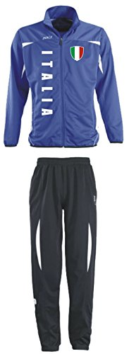 Aprom-Sports Italien Trainingsanzug - Sportanzug - S-XXL - Fußball Fitness (XL)