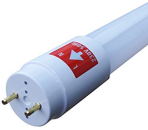 5er Set SMD Premium LED Röhre 150cm (1500mm Leuchtstoffröhre, T8 G13, 2200 Lumen, 4000 Kelvin, Neutralweiß (Tageslicht), Leistung: 24W) - inkl. Starter