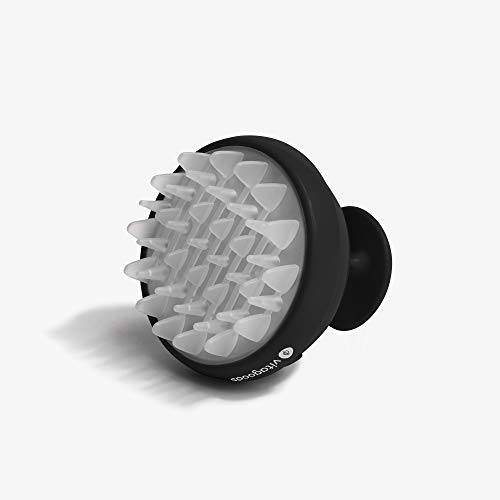 Vitagoods Scalp Vibrating Massaging Shampoo Brush  Handheld Massager WaterResistant  Black
