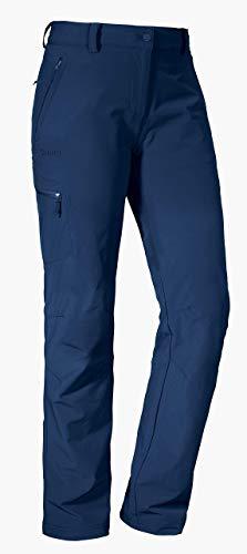 Schöffel Pants Ascona, leichte und komfortable Damen Hose für Wanderungen, vielseitige Outdoor Hose mit optimaler Passform und praktischen Taschen Damen, dress blue, 48