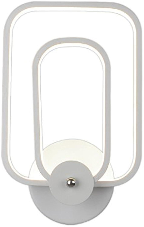 StiefelU LED Wandleuchte nach oben und unten Wandleuchten Nachttischlampe Schlafzimmer Wand Lampe Licht durch Balkon Treppen, begehbaren Kleiderschrnken led Wandleuchte, 31  19 cm (20 W)