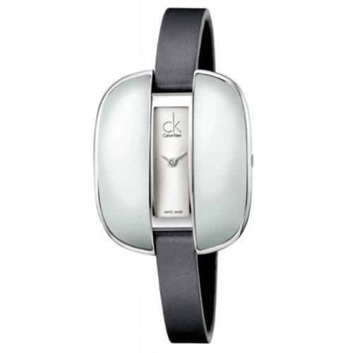 Calvin Klein Reloj Analógico para Mujer de Cuarzo con Correa en Cuero K2E23626